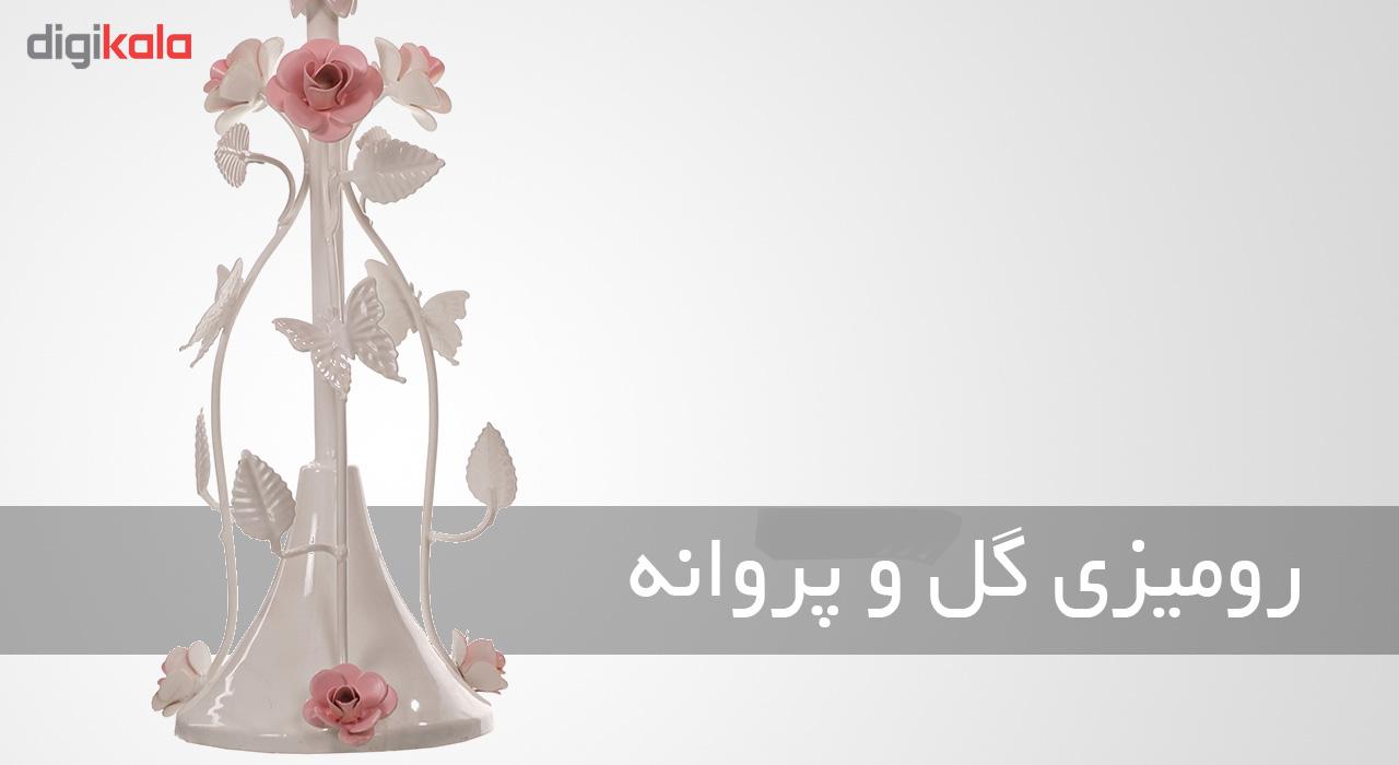 آباژور رومیزی فورژسازان مدل گل و پروانه