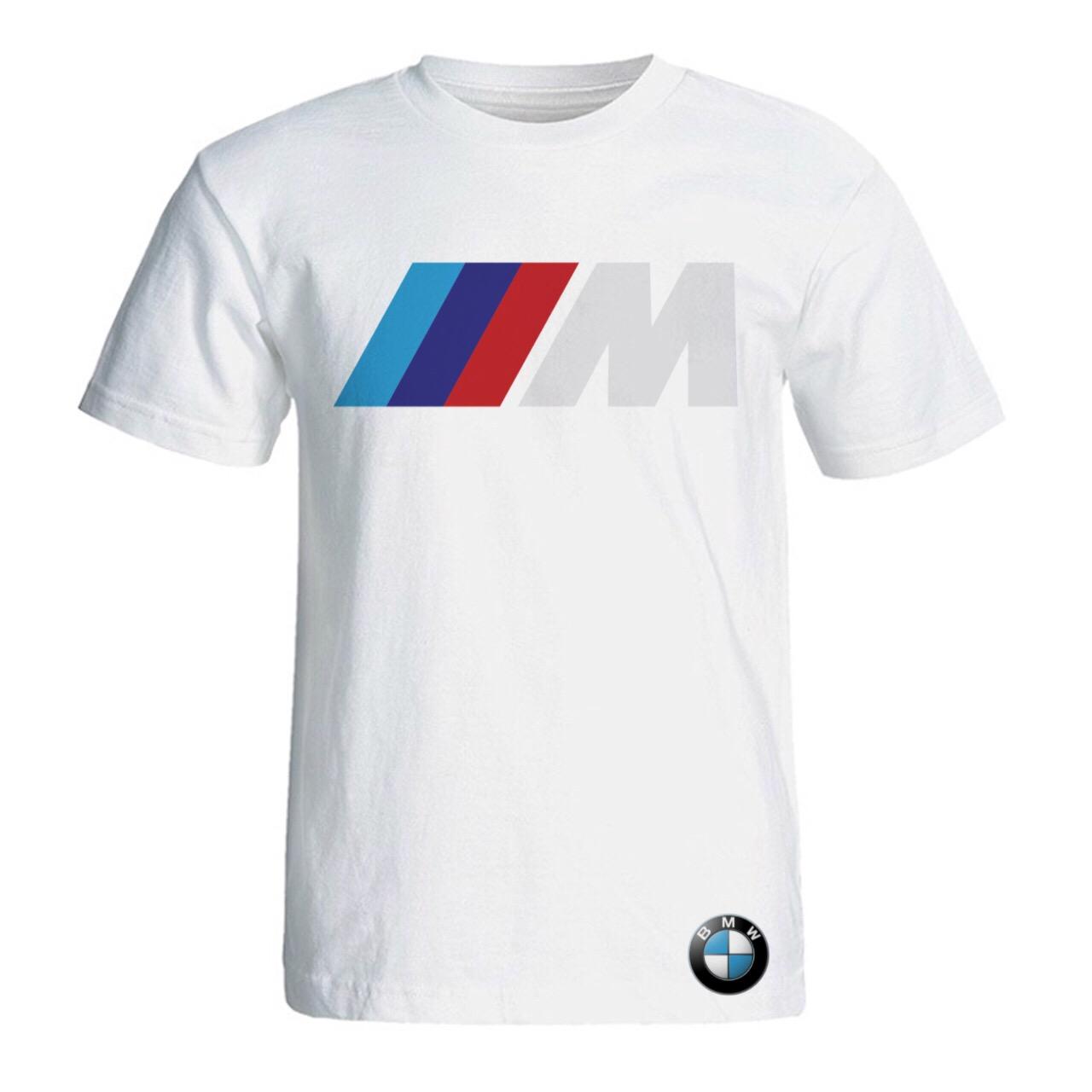 قیمت تی شرت آستین کوتاه مردانه سالامین طرح بی ام دبلیو کد SA116