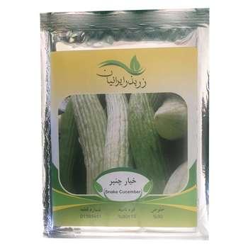 بذر خیار چنبر زر بذر ایرانیان کد ZBP-23