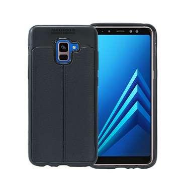 کاور طرح چرمی اتو فوکوس مدل Ultimate Experience مناسب برای گوشی موبایل Samsung Galaxy A8 plus