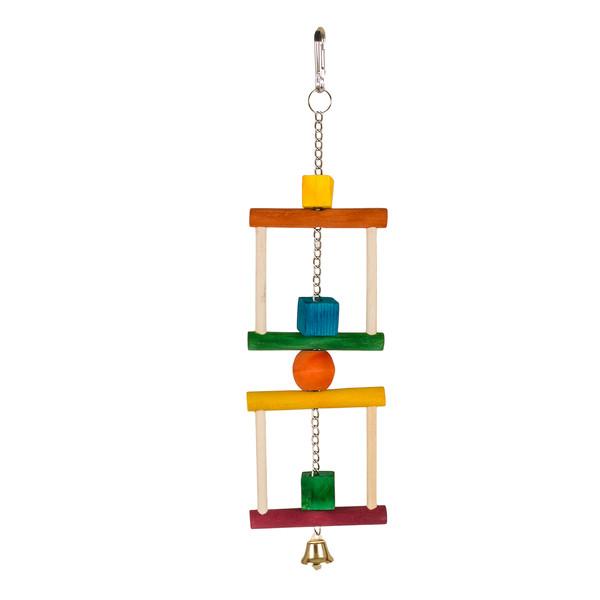 اسباب بازی رنگی پرندگان هوبی مدل B145