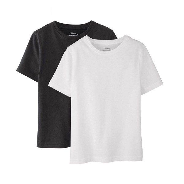 تی شرت پسرانه پیپرتس مدل BW001 مجموعه 2 عددی