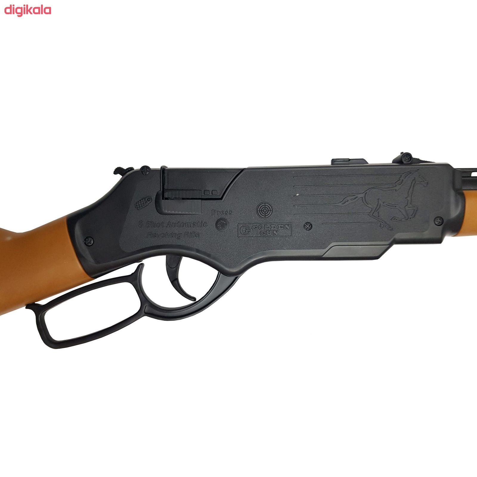 تفنگ بازی گلدن گان مدل naabsell-p100 مجموعه 4 عددی main 1 1