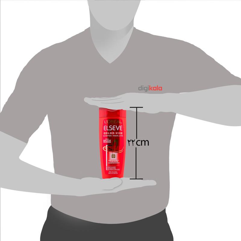شامپو تثبیت کننده رنگ مو لورآل مدل Color Vive حجم 400 میلی لیتر