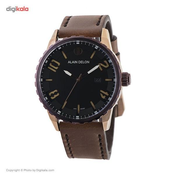 خرید ساعت مچی عقربه ای مردانه آلن دلون مدل AD383-1539