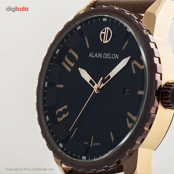 ساعت مچی عقربه ای مردانه آلن دلون مدل AD383-1539
