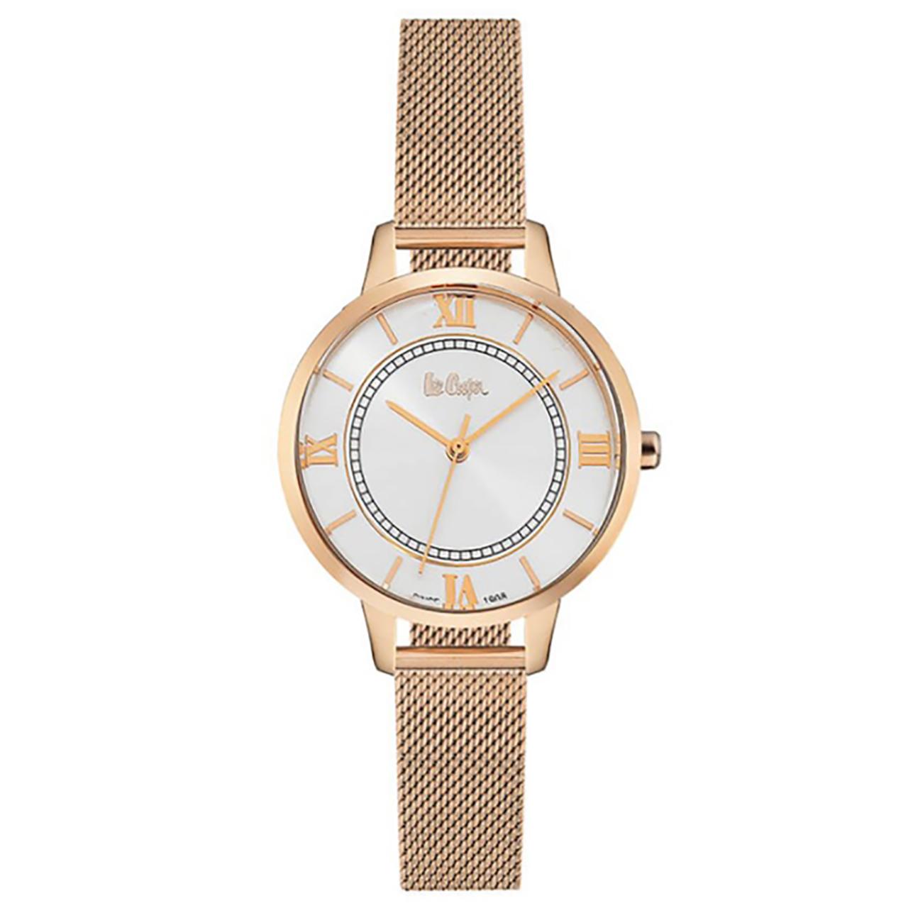 ساعت مچی عقربه ای زنانه لی کوپر مدل LC06406.430