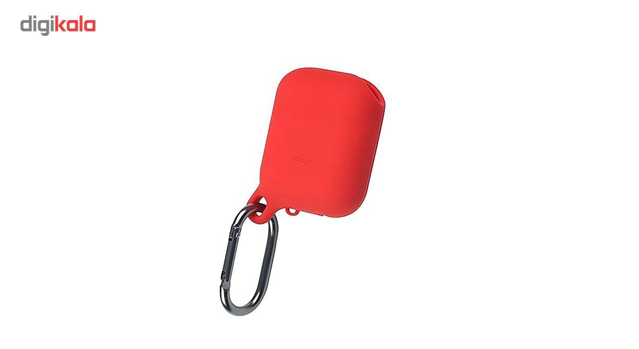 کاور محافظ سیلیکونی ضد آب الاگو مناسب برای کیس اپل AirPods main 1 1