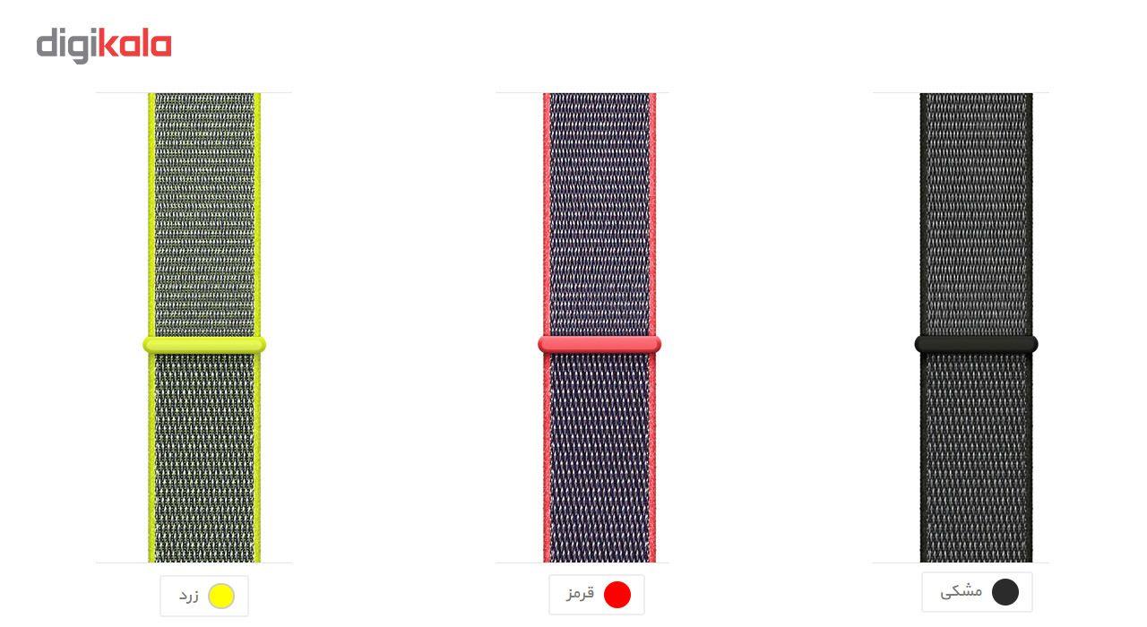 بند طرح اسپورت لوپ مناسب برای اپل واچ 38 میلی متری main 1 2