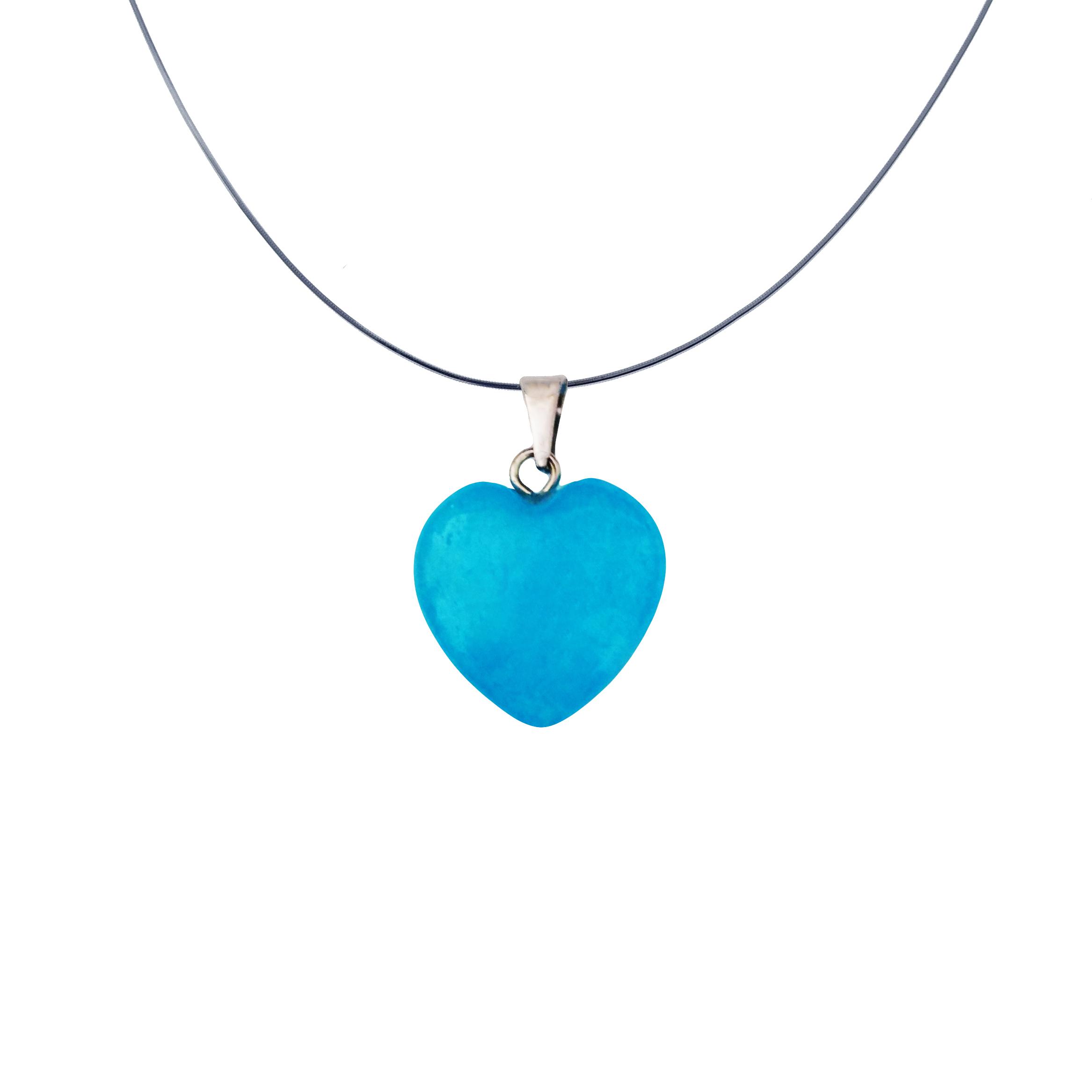 گردنبند زنانه سلین کالا طرح قلب مدل ce-mah11
