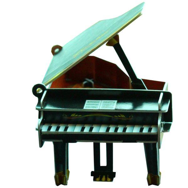 پازل سه بعدی مقوایی مدل رویال پیانو