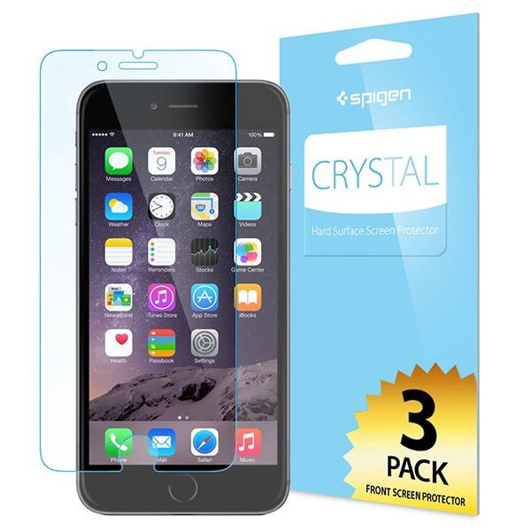 محافظ صفحه نمایش اسپیگن مدل Crystal مناسب برای گوشی موبایل آیفون 6