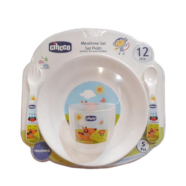 ست 5 تکه غذاخوری کودک  مدل Mealitme set
