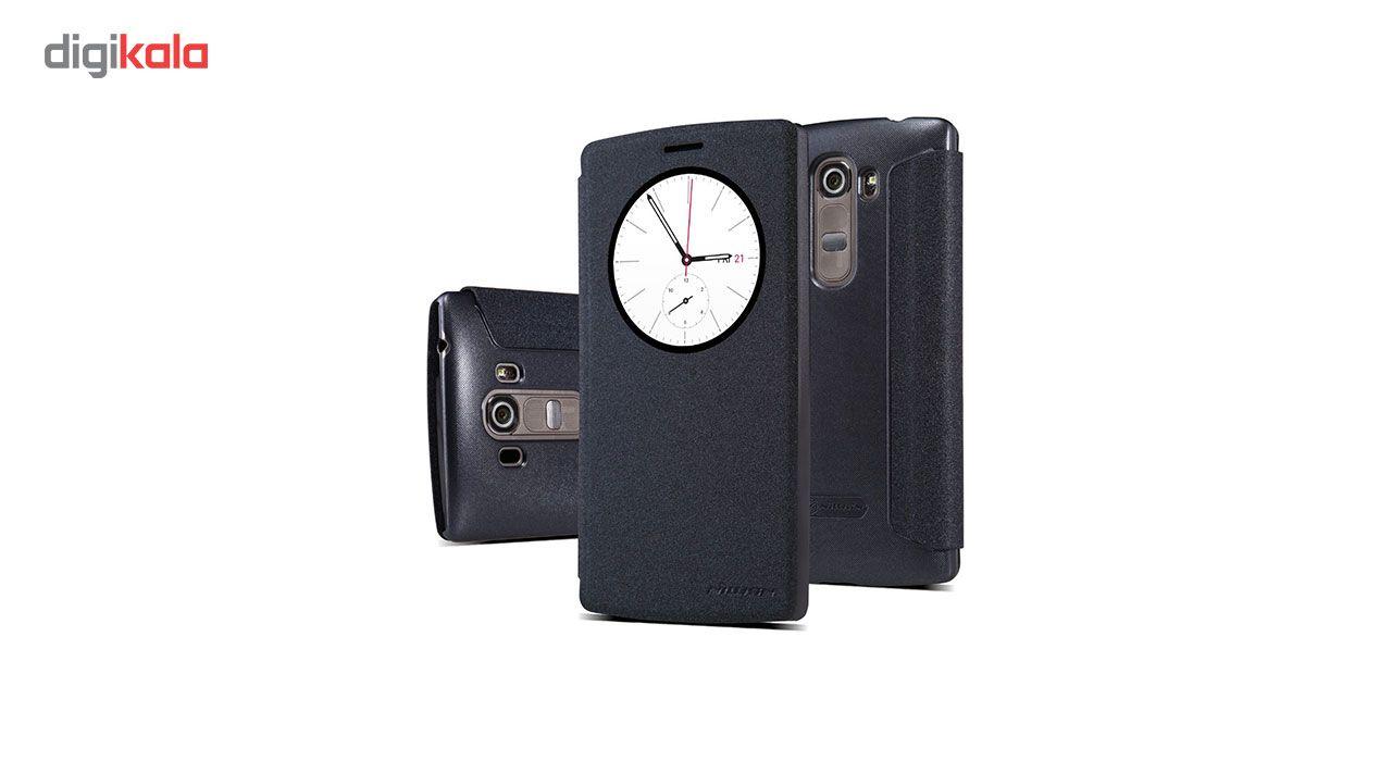 کیف کلاسوری نیلکین مدل New Leather Sparkle مناسب برای گوشی LG G4 Beat / G4 S main 1 1