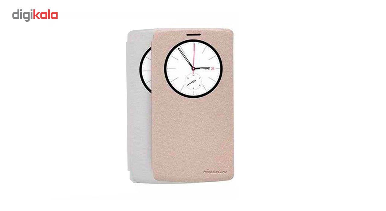 کیف کلاسوری نیلکین مدل New Leather Sparkle مناسب برای گوشی LG G4 Beat / G4 S main 1 2
