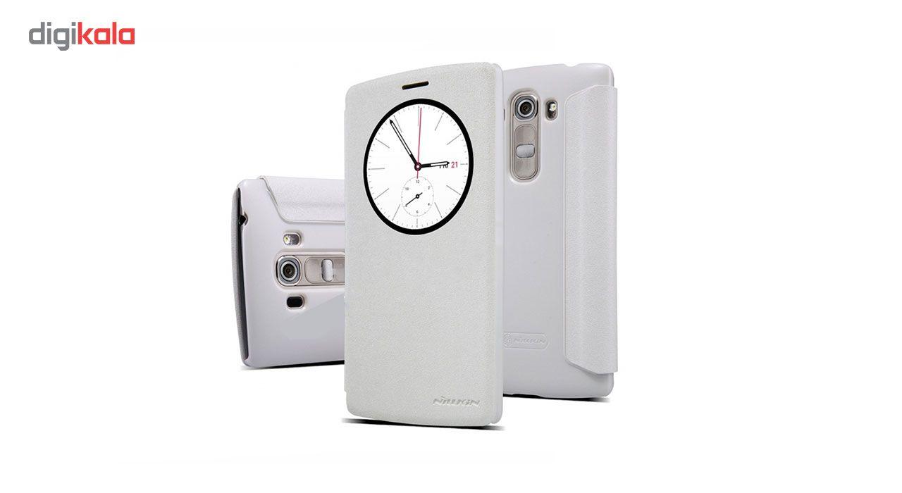 کیف کلاسوری نیلکین مدل New Leather Sparkle مناسب برای گوشی LG G4 Beat / G4 S main 1 3