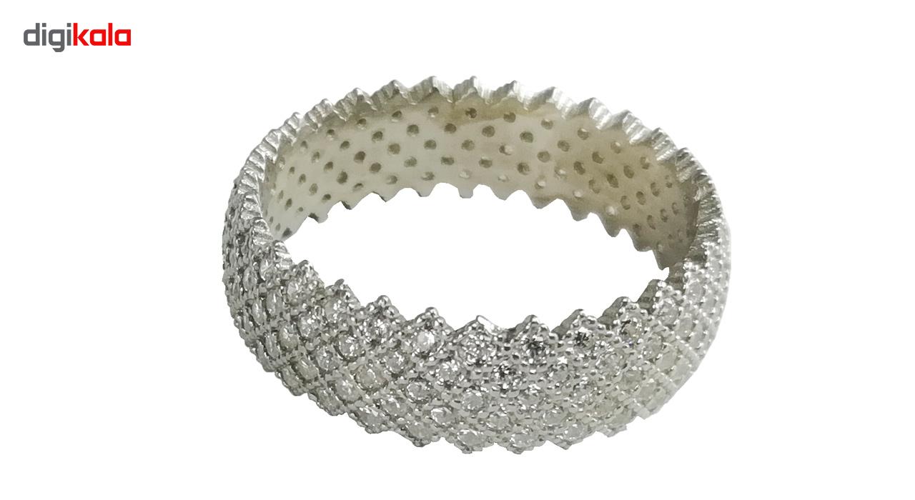 حلقه نقره آل نوین کد AL-180019