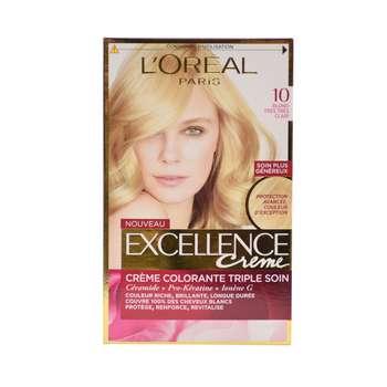 کیت رنگ مو لورآل مدل Excellence شماره 10