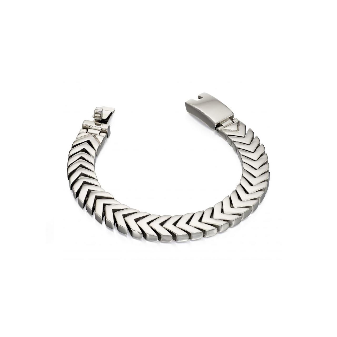 دستبند نقره مردانه فرد بنتی مدل B4996