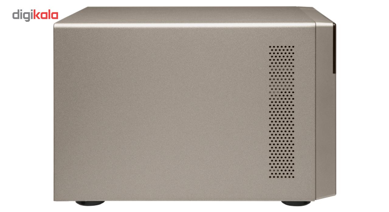 ذخیره ساز تحت شبکه کیونپ مدل QNAP TVS-873e-4G