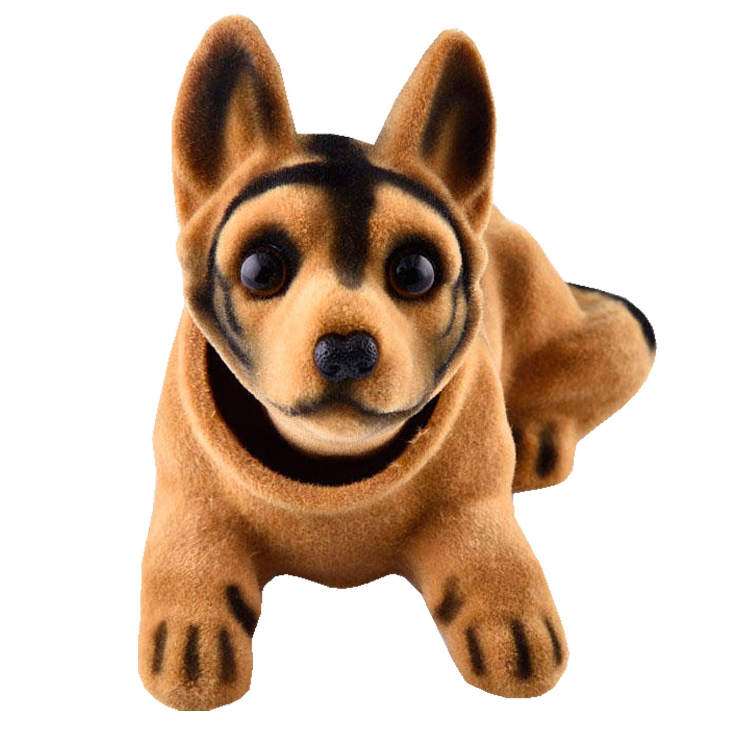 عروسک روی داشبورد سر متحرک  مدل Shepherd Dog thumb