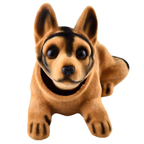 عروسک روی داشبورد سر متحرک  مدل Shepherd Dog