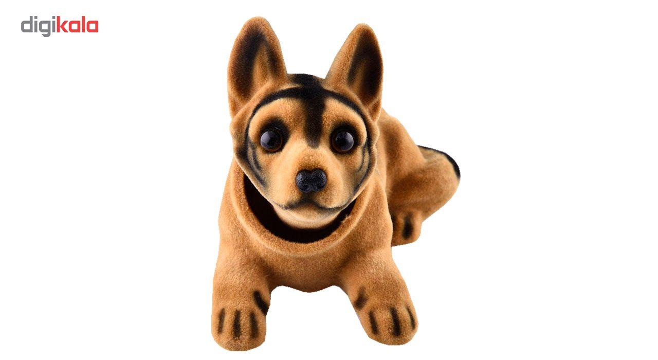 عروسک روی داشبورد سر متحرک  مدل Shepherd Dog main 1 1