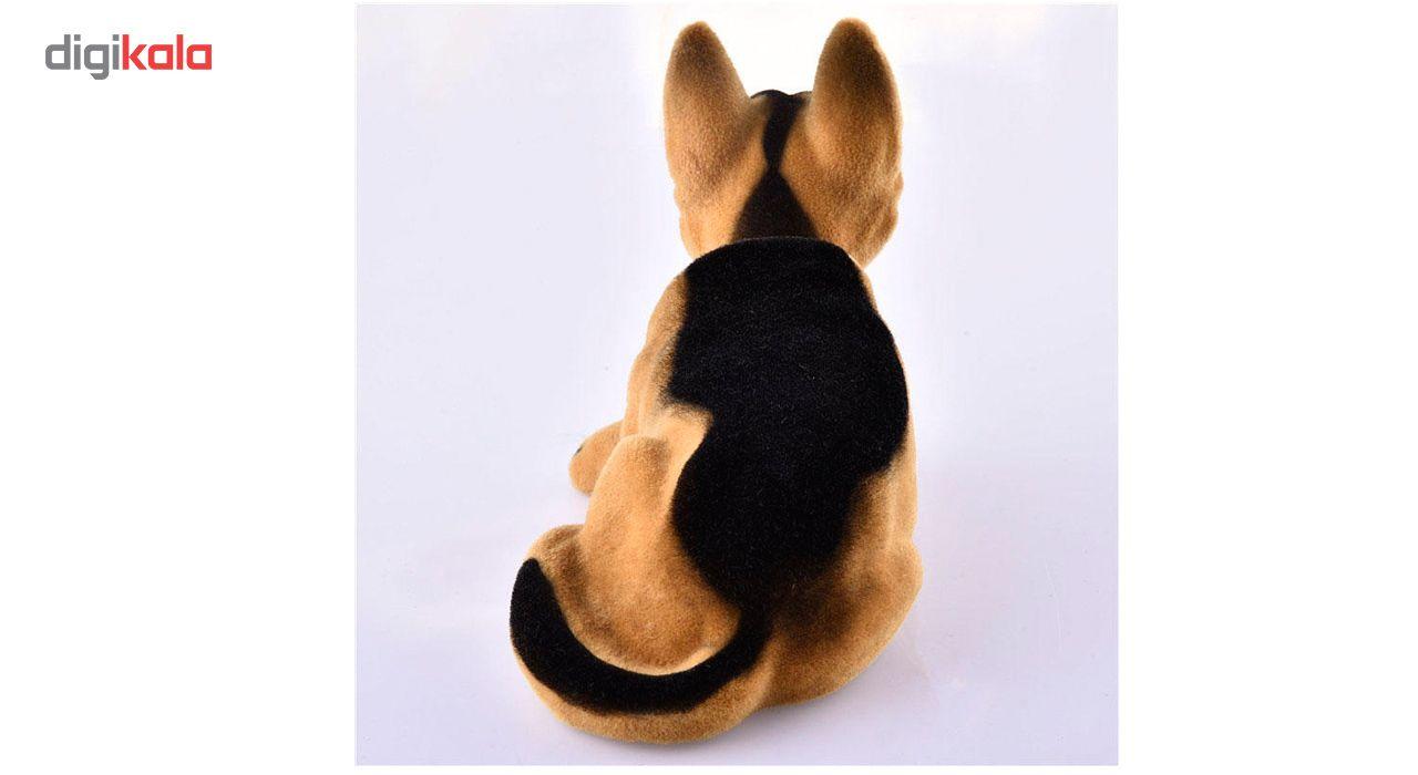 عروسک روی داشبورد سر متحرک  مدل Shepherd Dog main 1 2