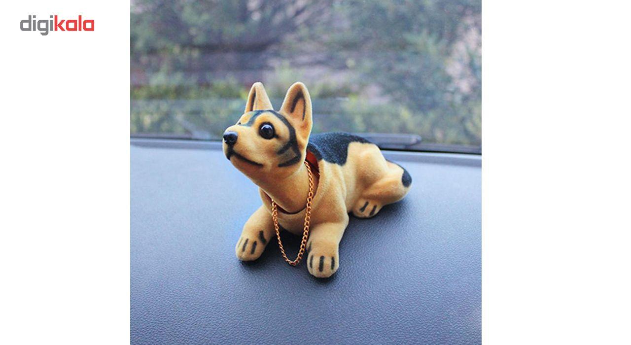 عروسک روی داشبورد سر متحرک  مدل Shepherd Dog main 1 3