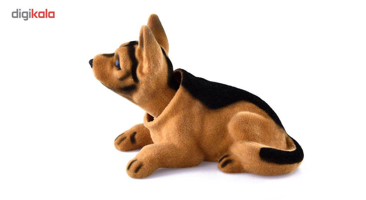 عروسک روی داشبورد سر متحرک  مدل Shepherd Dog main 1 5