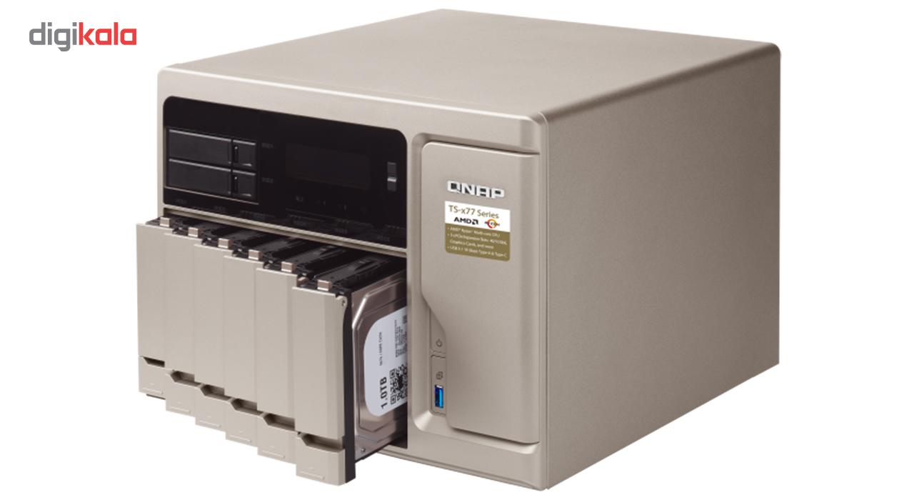 ذخیره ساز تحت شبکه کیونپ مدل TS-877-1600-8G