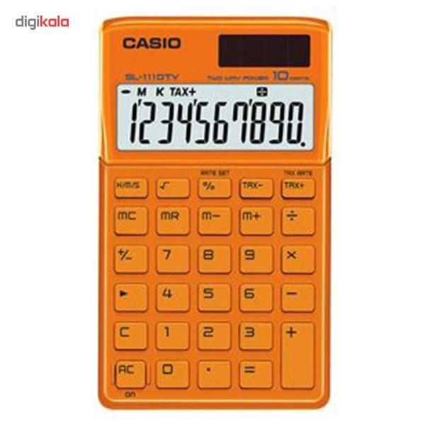 قیمت                      ماشین حساب کاسیو مدل SL-1110TV