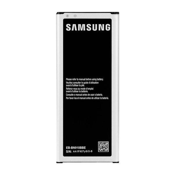 باتري مدل EB-BN910BBE مناسب موبايل سامسونگ Galaxy Note 4   Samsung EB-BN910BBE 3220mAh Battery For Samsung Galaxy Note 4