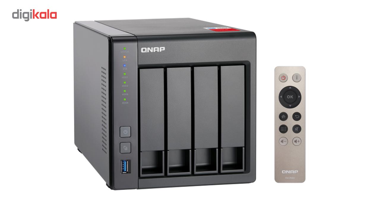 ذخیره ساز تحت شبکه کیونپ مدل TS-451+-2G