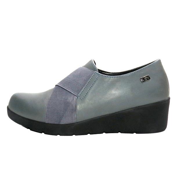 کفش روزمره زنانه آر اند دبلیو مدل 412 رنگ طوسی