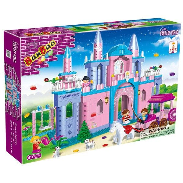 مدلسازی بن بائو مدل قلعه کد 8360