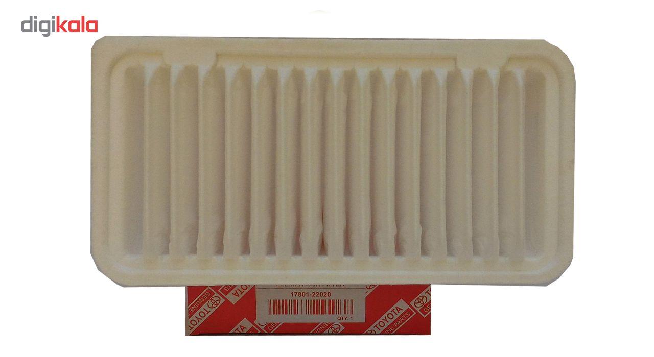 فیلتر هوا مدل 22020 مناسب برای خودرو های تویوتا کرولا و جیلی main 1 2
