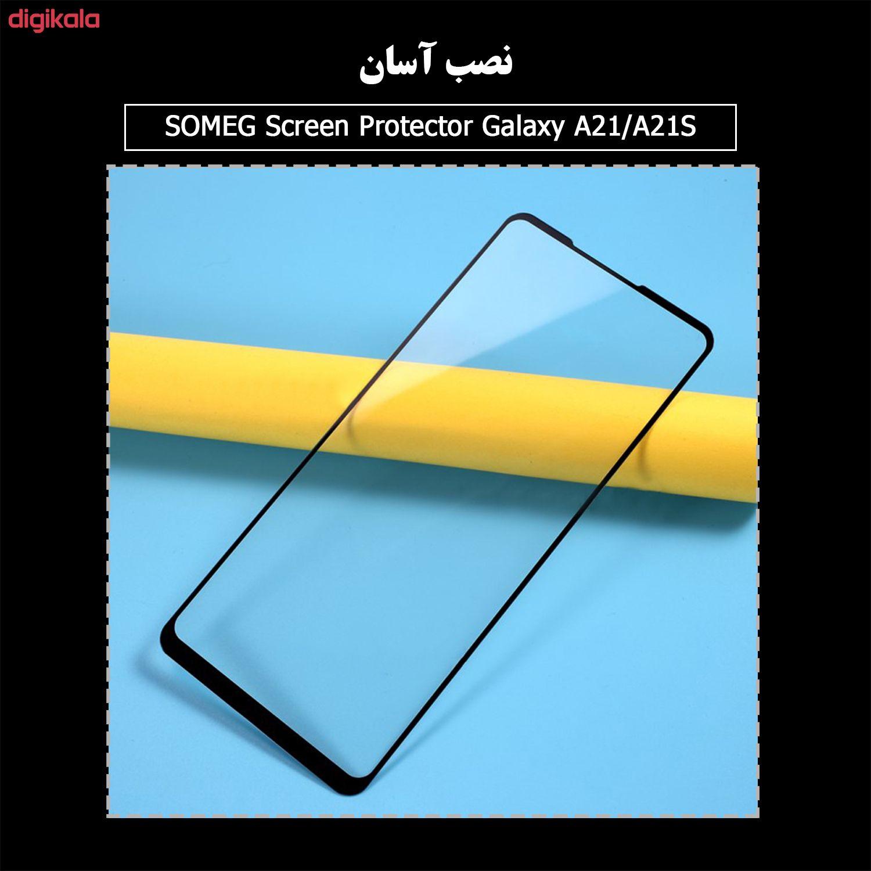 محافظ صفحه نمایش سرامیکی سومگ مدل Ruby-9 مناسب برای گوشی موبایل سامسونگ Galaxy A21 / A21s main 1 8