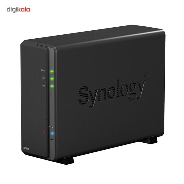 ذخیره ساز تحت شبکه 1Bay سینولوژی مدل دیسک استیشن DS114