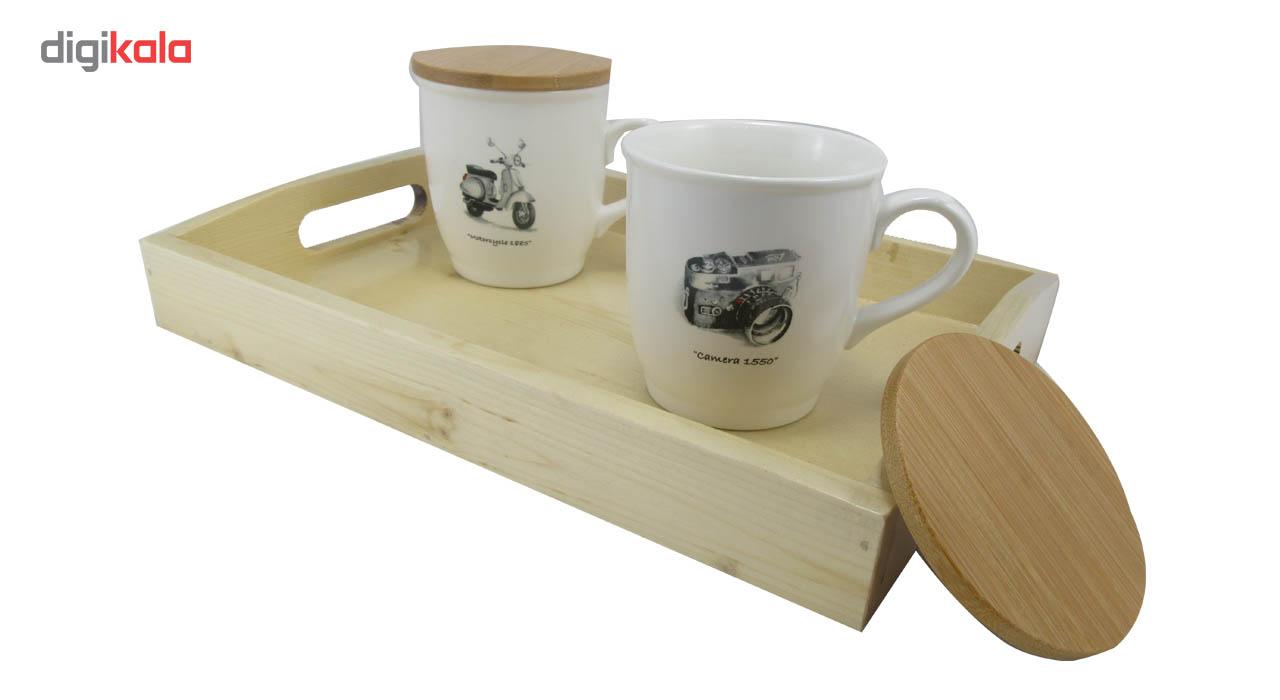 سینی چوبی کوه شاپ مدل جهان نما main 1 8