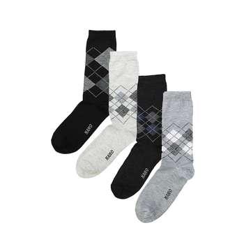 جوراب مردانه مدل Nano بسته 12 عددی