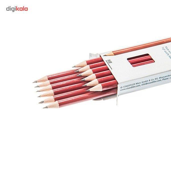 مداد  مشکی استدلر مدل Camel بسته 12 عددی main 1 2