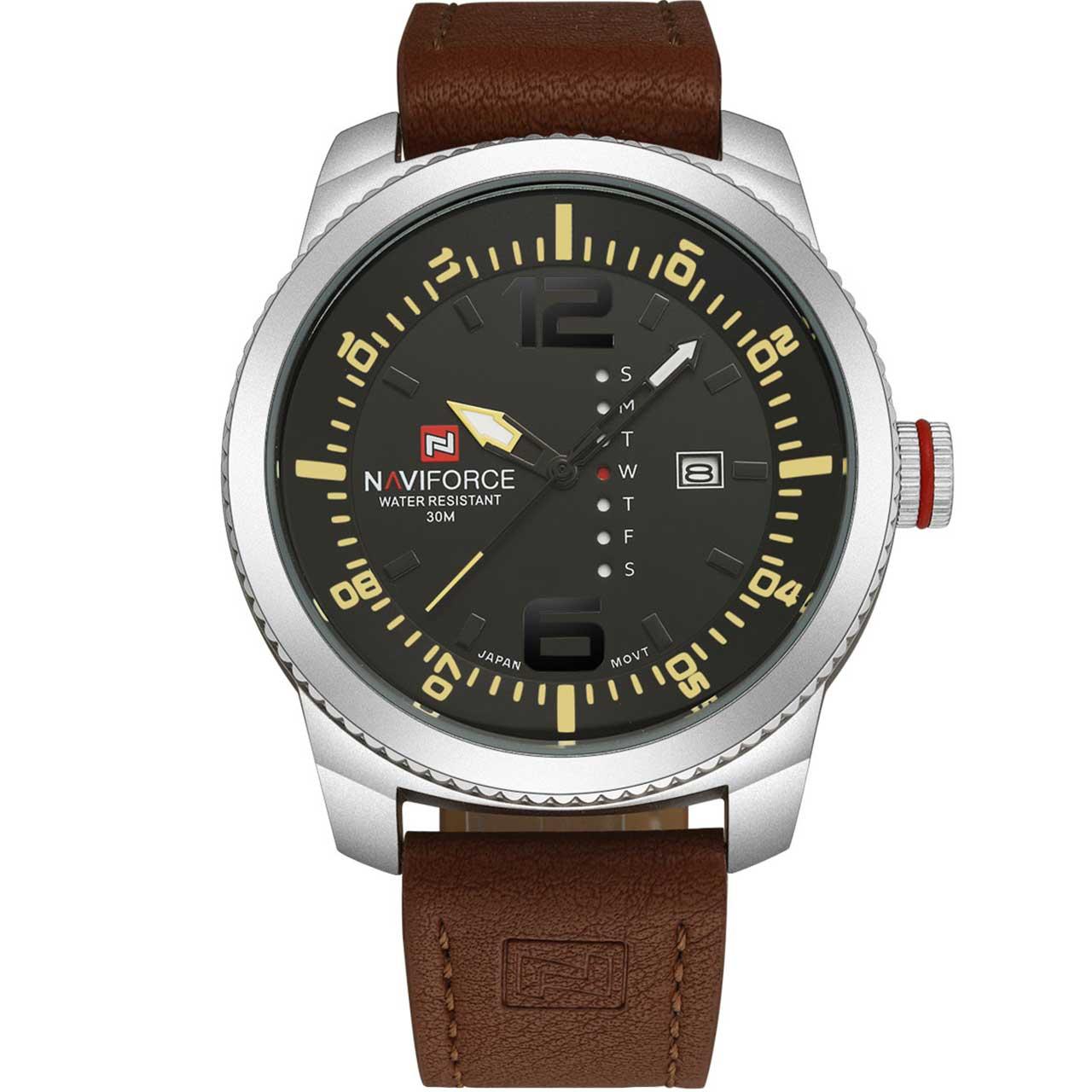 ساعت مچی عقربه ای مردانه نیوی فورس مدل NF9063SYBN