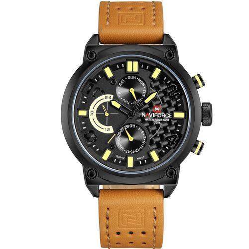 ساعت مچی عقربه ای مردانه نیوی فورس مدل NF9068LBYBN