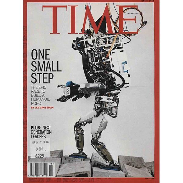 مجله تایم - هشتم ژوئن 2015