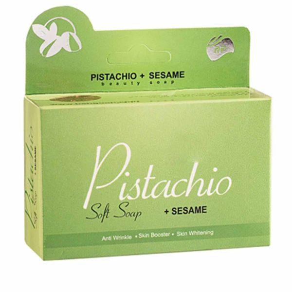 صابون نرم پسته آرپی مدل Pistachio مقدار 95 گرم | RP Pistachio Soft Soap 95gr