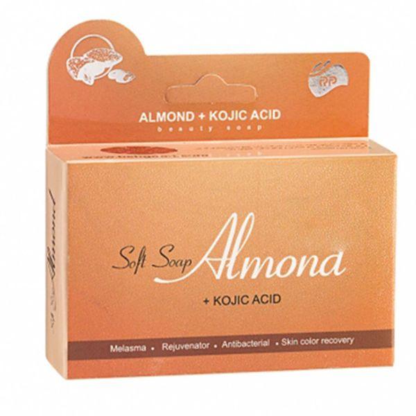 صابون نرم بادام آرپی مدل Almond مقدار 95 گرم | RP Almond And Kojik Acid Soft Soap 95gr