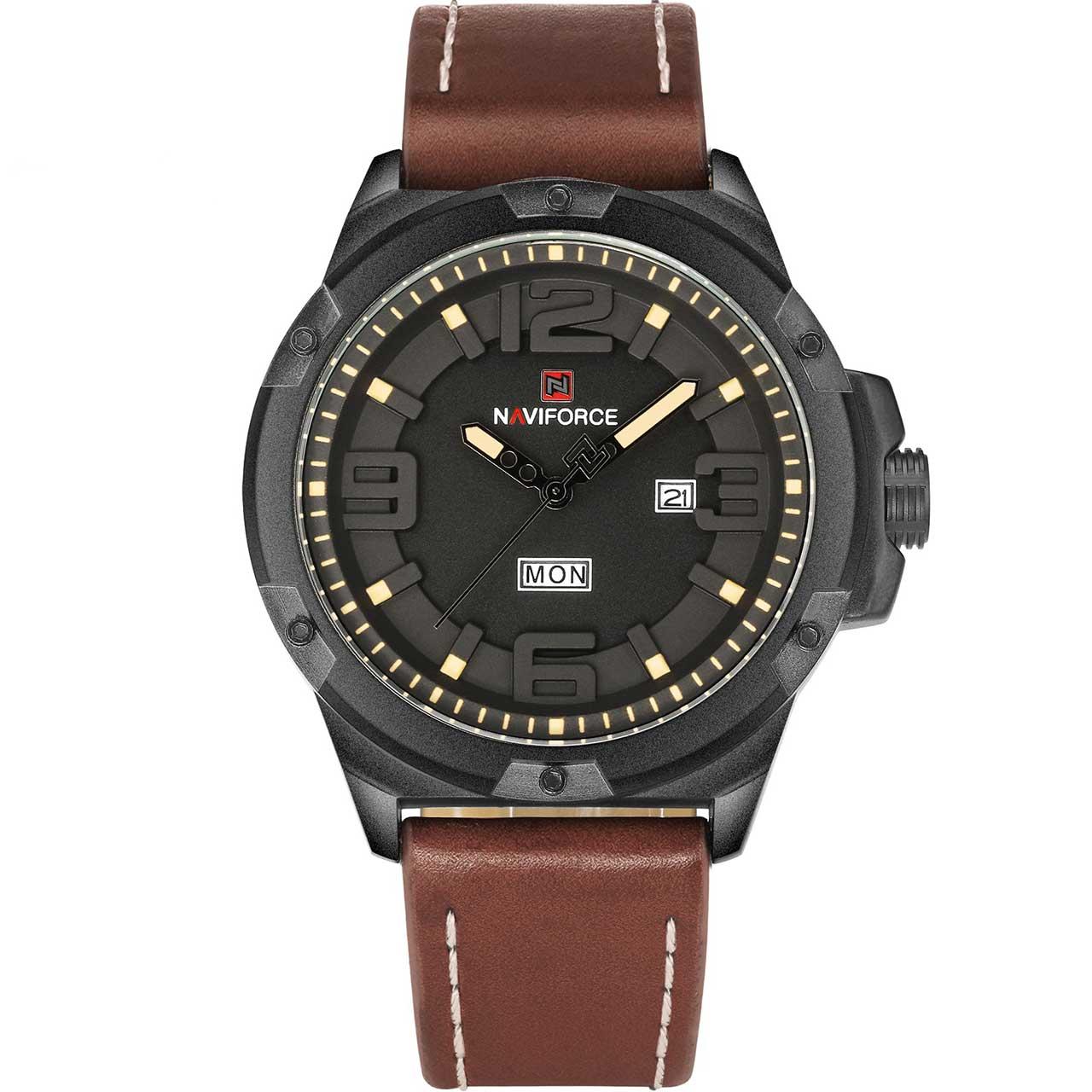 ساعت مچی عقربه ای مردانه نیوی فورس مدل NF9100BYBN