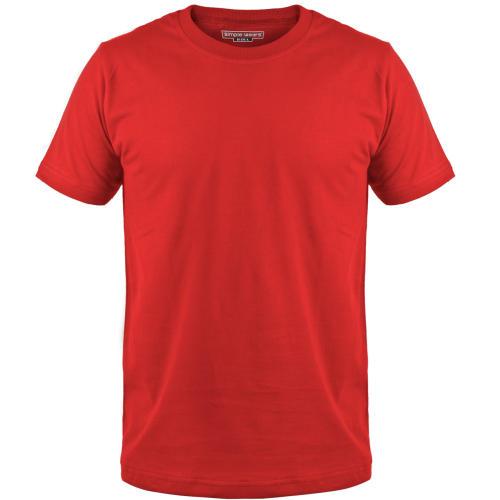 تی شرت مردانه سیمپل  مدل sw3-Red