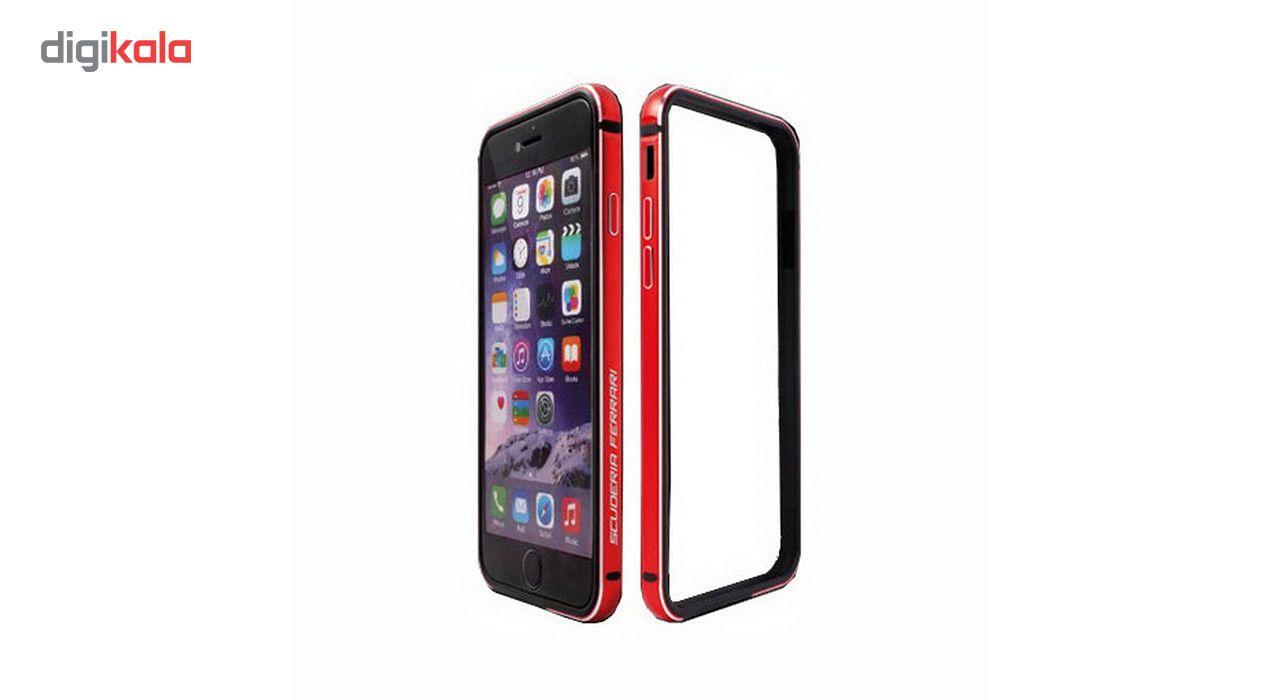 بامپر مدل ScuderiaFerrari مناسب برای گوشی موبایل آیفون 6Plus main 1 1